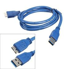 1M USB 3.0 Type A Vers Micro B Super-Speed Cable Adaptateur Pr Samsung S5 Note 3