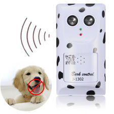 AU Plug Sound Sensor Ultrasonic Deterrent Anti Bark Dog Stop Barking Training