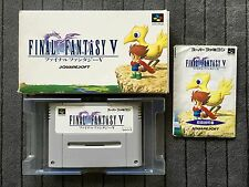 Final Fantasy V 5 - JAP - SFC - Super Famicom - Nintendo