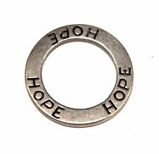 """STERLING SILVER SILPADA """"HOPE"""" CIRCLE PENDANT PART OF S1622 LOT# IJ26366"""