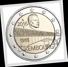 2 EURO *** Luxembourg 2016 Pont Charlotte *** Charlotte Brug Luxemburg 2016 !!!