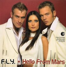 CD SINGLE EUROVISION 2003 Letonie : FLY Hello from Mars 4-Track CARD SLEEVE NEW