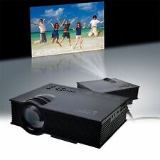 UC46 Multimedia 1200 Lumens WiFi Wireless Portable LCDLED Home Theater Projector