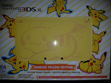 NEW Nintendo 3DS XL Pikachu Yellow Edition Game System Console |BRAND NEW SEALED