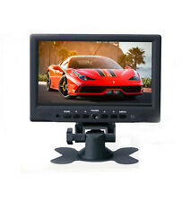 7'' HD 800*480 TFT LCD HDMI VGA Audio Video Car Rear View Monitor with Speaker
