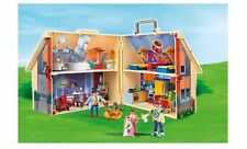 Playmobil Take Along Dollshouse Two Story Play House Fully Furnished Four Rooms