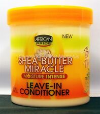 African Pride Leave In Conditoner Shea Butter Miracle Moisture Intense 15oz