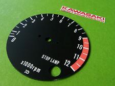 1974-1975 kawasaki z1 gauge tacho tach TACHOMETER FACE PLATE instrument cluster