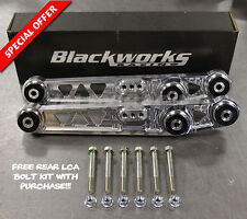 Blackworks BWR Rear Lower Control Arms LCA 88-95 Civic 90-01 Integra POLISHED