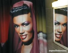 Grace Jones May Day Shower Curtain James Bond View to a Kill