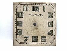Antique Waltham Watch Fancy Dial 23.5x23.5 mm square in size.