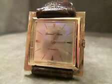 Vintage 14K Germinal Voltaire Solid Gold Manual Wind 17 Jewel, JUST SERVICED!!!