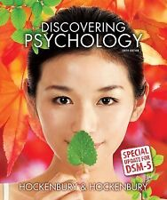 Discovering Psychology with DSM5 Update by Sandra E. Hockenbury and Don H....