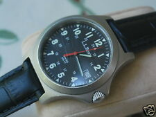 Nice L.L.Bean Stainless Steel Men's Military Style Watch w/Date