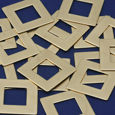 "20pcs 1 1/4"" tibetara Brass Square Washer Stamping Blanks Washer 10126150"