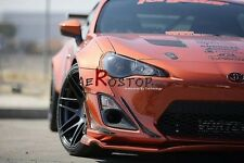 CARBON FIBER PD JDM STYLE FRONT BUMPER CANARD SET 4PCS FOR GT86 FT86 FR-S FRS