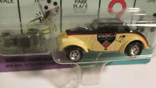 "Johnny Lightning Monopoly Willys ""Vintage Monopoly"" cream & black w/ game token"