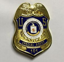 U.S. SPECIAL ACTIVITIES DIVISION SPECIAL AGENT PIN PROPS COLLECTION BADGE  -1976