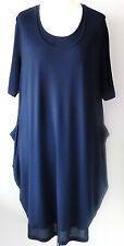 Samoon by Gerry Weber 2-in-1 Kleid Gr. 52 Viskosenkleid Damenkleid mit Elasthan