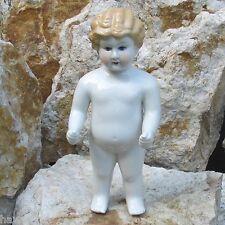 Porzellan-Puppe Badepuppe 30cm Nacktfrosch Mädchen Glasiert  Antik Deko