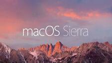 Bootable USB 8GB Formattare Mac OS X Sierra 2016 + ISTRUZIONI CONSEGNA IN 24H