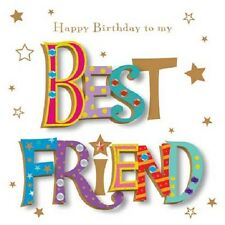 Happy Birthday To My Best Friend Greeting Card By Talking Pictures Cards