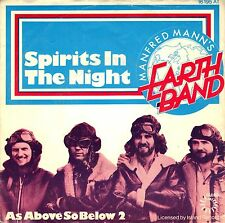 "7"" Manfred Mann's Earth Band – Spirits In The Night (B.Springsteen) //Dutch 1975"
