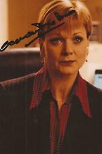 JAMES BOND: SAMANTHA BOND 'MISS MONEYPENNY' SIGNED 6x4 ACTION PHOTO+COA
