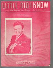 Little Did I Know 1943 Frank Sinatra Cover 2