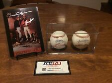 MLB AUTOGRAPHS OF HALL OF FAMERS ROLLIE FINGERS & BRUCE SUTTER