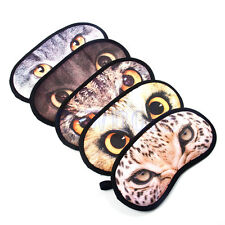 Sleep eye mask for sleeping rest aid travelling under eyes cover shade cats HM