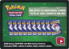 100x POKEMON XY10 FATES COLLIDE ONLINE DIGITAL CODE CARDS NEW & UNUSED IN HAND!!
