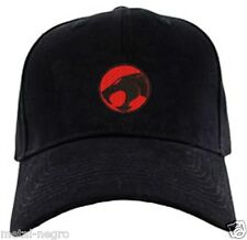 THUNDERCATS EMBROIDERED CAP BLACK HAT SUPERMAN COMICS SUPER HERO Metal Negro