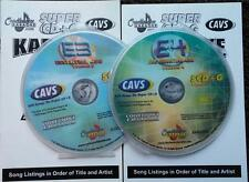 2 SCDG SET CHARTBUSTER ESSENTIALS VOL 3,4 KARAOKE SET 900 SONGS CAVS *2016 SALE*