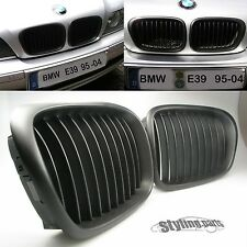 BMW E39 5er M5  LOOK  1995 - 2004 NIEREN GRILL SHADOW LINE IN MATT SCHWARZ