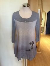 Jean Gabriel Tunic Top Size 18 BNWT Grey RRP £107 Now £37