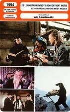 FICHE CINEMA : LES LENINGRAD COWBOYS RENCONTRENT MOISE - Aki Kaurismaki 1994