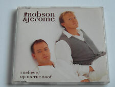 Robson & Jerome - I Believe / Up On The Roof (CD Single) Used very good