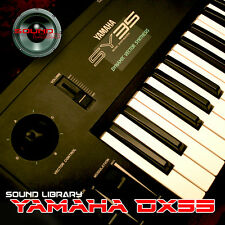 YAMAHA SY35 HUGE Original Factory & New Created Sound Library/Editors on CD