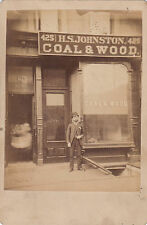 VICTORIAN 1880's NEW YORK SHOP FRONT PHOTOGRAPH.  425 10TH AVENUE