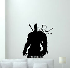 Deathstroke Wall Decal Superhero Vinyl Sticker Kids Comics Decor Poster 183zzz