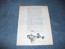 "1961 Go Kart 800 Vintage Ad ""Proven Quality is Positive Quality"""