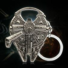 Star Wars Beer Bottle Opener Millennium Falcon Metal Keyring Keychain Tools