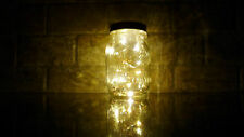Mason Jar Fairy Lights Angel Tears LED Battery Operated Wedding  (Warm White)