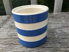 T G Green ~ Cornish ~ Kitchen Ware ~ England ~ Small Canister ~ No Lid
