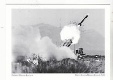 "Postcard-""The Patriot Missile Launch""  ...White Sands Missile Range, NM (#80)"