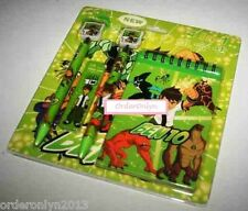 Stationery 4pc Set (Ben 10 Design)