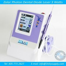 Dental Diode Laser 3 Watts Complete Set. 3 years Warranty for the Laser + DVD...