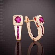 Ohrringe mit Rubinen Korund Gold 585° ORB38743