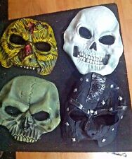 Old Rubber Halloween Masks Lot of 4